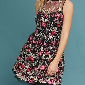NWT Shoshanna Embellished Floral Dress sz 2